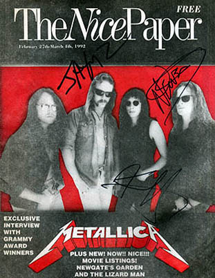 Metallica 1992 Interview