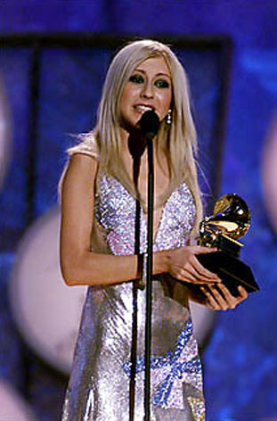 Big Noise Christina Aguilera Grammy