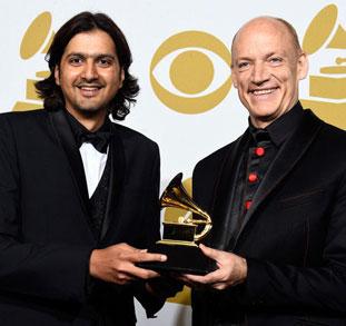 Ricky Kej Wouter Kellerman Big Noise Grammy Award